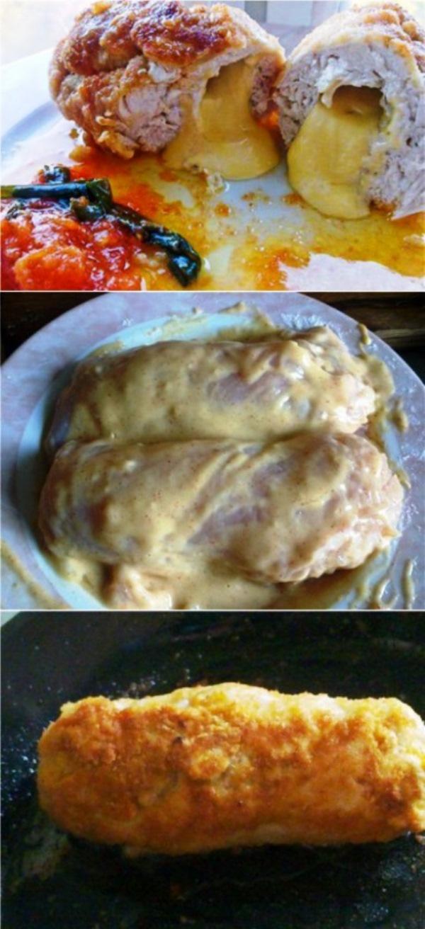 Деревенское блюдо по специальному рецепту: получается нежнейшим, блюдо просто находка! Куриная грудка с сыром