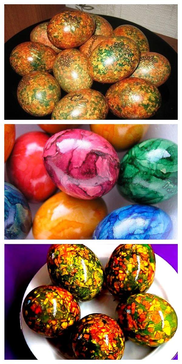 Мраморные яйца на Пасху. Берем на заметку