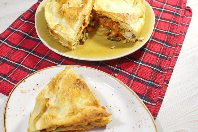 Вкусный быстрый пирог из лаваша — вкусно без комментариев!