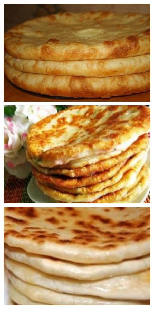 Шикарное блюдо из сыра и картофеля - плацинды по грузински