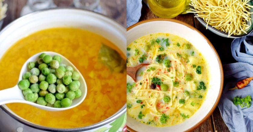 Сырный суп с горошком  — нежный, вкусный, наваристый и сытный, готовится быстро и легко.