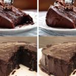 Обалденный влажный шоколадный пирог (без яиц). Невероятная вкуснотища