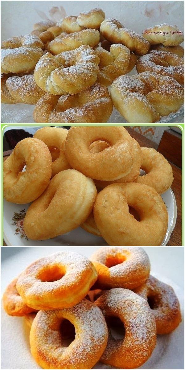 Лучшие пончики в мире! Нежные, сладкие и румяные! Детки обожают!