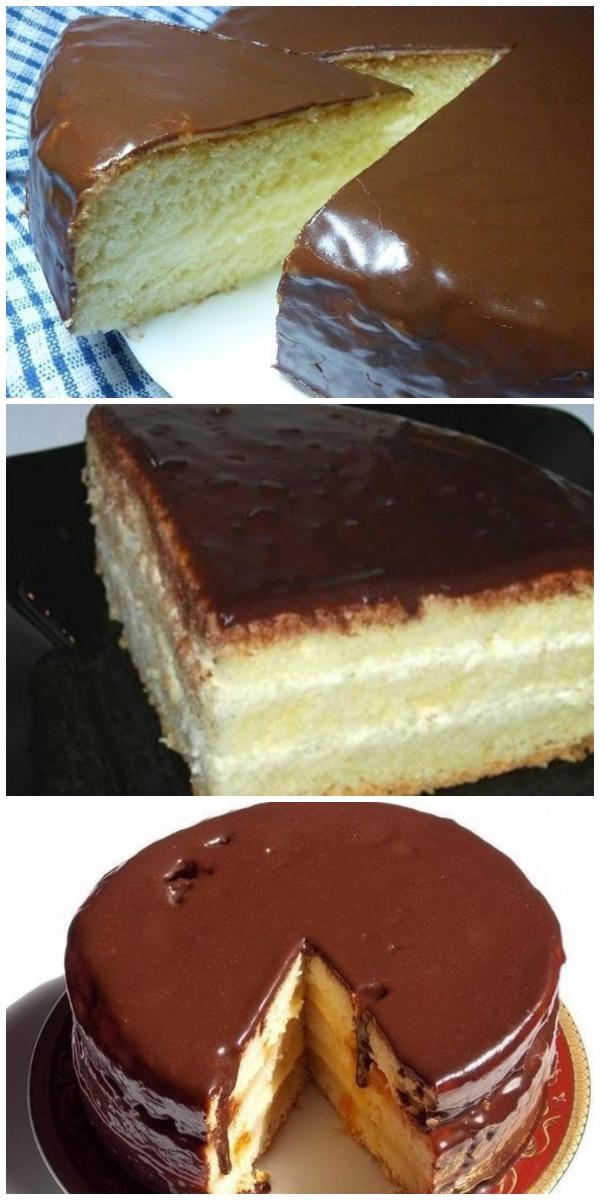 Невероятно вкусный и нежный торт «Чародейка»! Обалденный вкус, знакомый с детства!