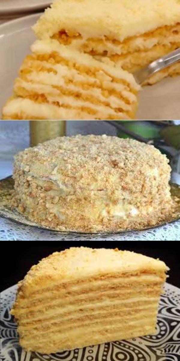 Торт «Пломбир» без духовки. Объедение!