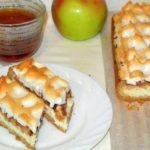 Немецкий яблочный песочный пирог - нежнее облака
