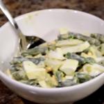 Вечерний салат для худеющих