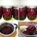 ВИШНЯ КОНСЕРВИРОВАННАЯ В ЖЕЛЕ — нежнее варенья, ягоды на вкус как свежие! Рекомендую попробовать.