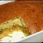 Заливной пирог с капустой. Очень быстрый и очень вкусный!
