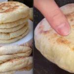 Пористые, мягкие и воздушные, полые внутри — Лепешки «Базлам»