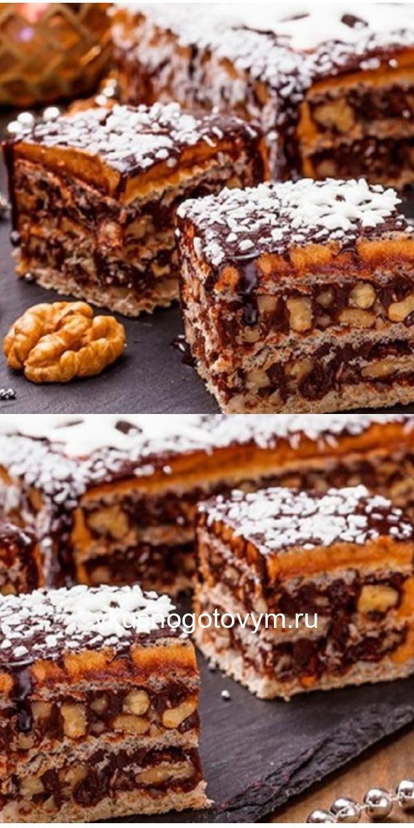 """Ммм… Вафельный торт """"Грильяж"""". Это НЕЧТО! Божественный вкус! Уверяю — стоит попробовать."""