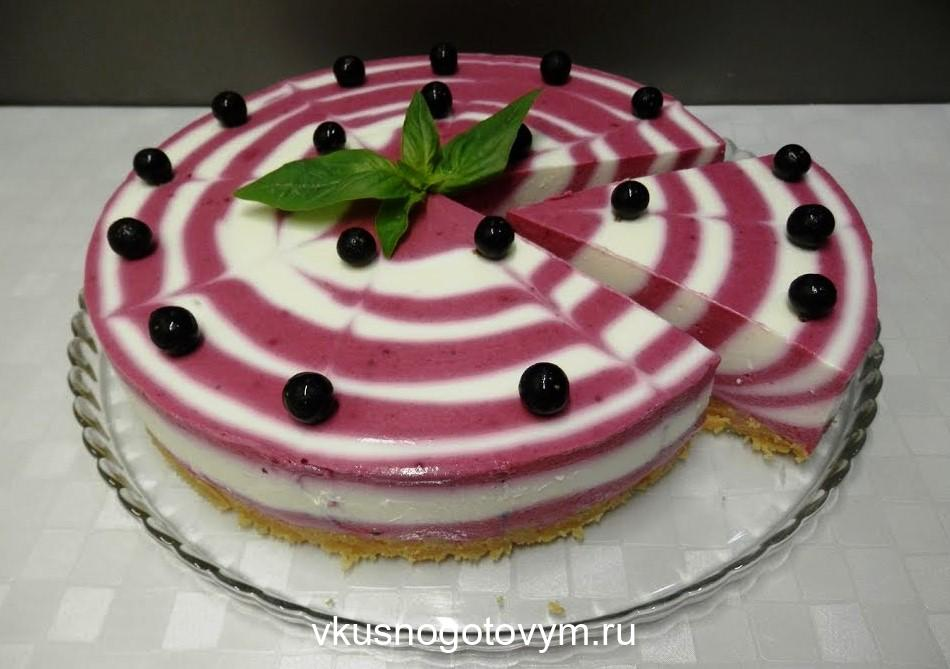 Очень простой творожный торт за 15 минут. И никакой выпечки!