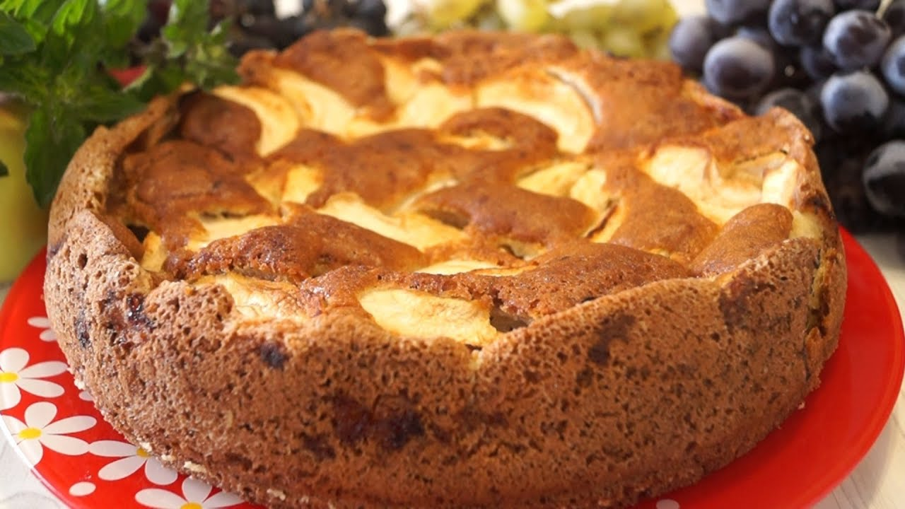 Особенный Яблочный пирог. Попробуйте если еще не пробовали!