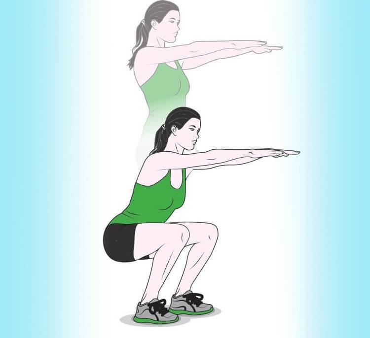 5 ежедневных упражнений, которые нужно делать всем женщинам после 40 лет 1