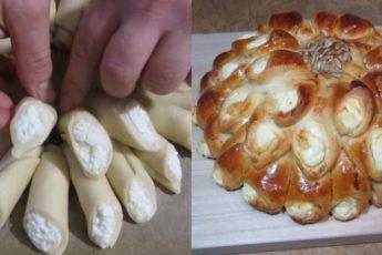 Рецепт потрясающего творожного пирога 1