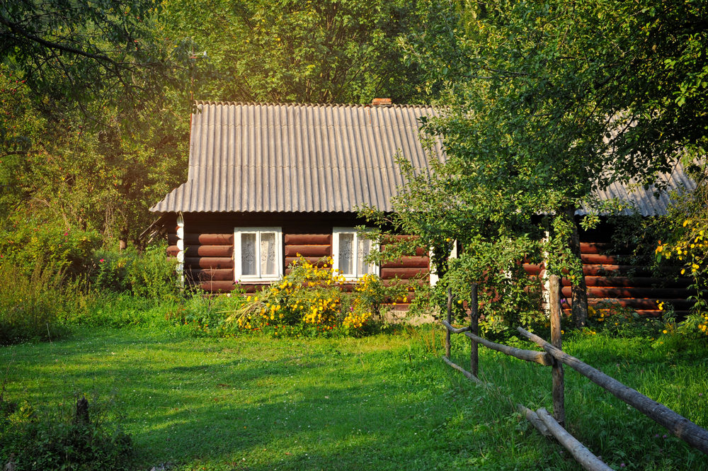 old-village-house-in-summer-day