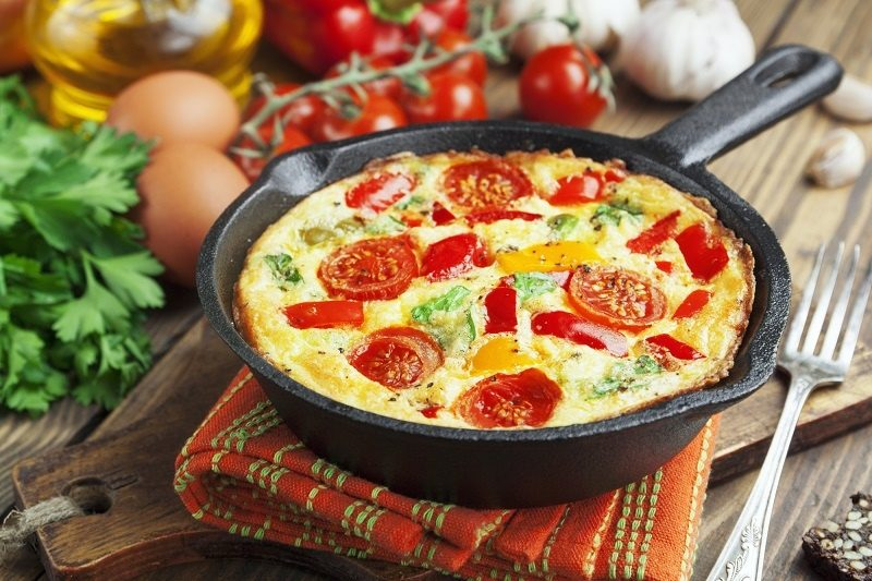 omelet-with-vegetables-and-cheese-frittata