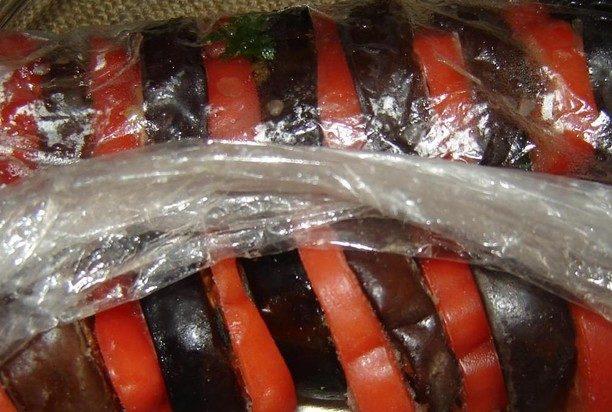 Заморозка баклажанов с помидорами. Всю зиму вы будете наслаждаться любимым блюдом!